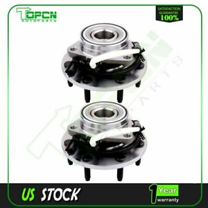 2 Front Wheel Hub And Bearing Assembly W abs Fits F150 Heritage Svt Lightning