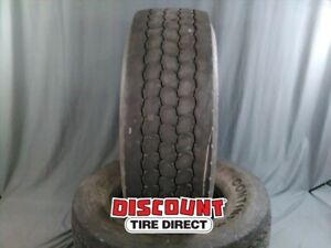 2 Used 425 65 R22 5 165k Continental Htc1 65r R22 5 Tires