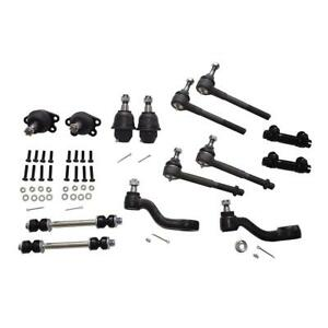 For 1995 Chevrolet Gmc K1500 Tahoe 4x4 Tie Rods Ball Joints 14pc Suspension Kit