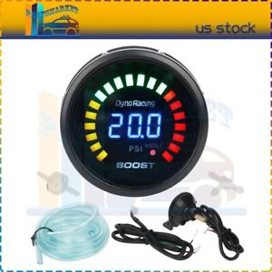Universal Car 4 6 8 Cylinder 12v 7 Colors Led 0 8000 Rpm Tachometer Gauge Meter