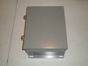 New Sce 1008chnf Hinged Enclosure 10 X 8 X 4 Deep Saginaw Control Eng