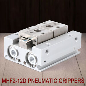 Pneumatic Gripper Cylinder Mhf2 12d Stroke 12mm Bore 12d Double Acting M5 0 8