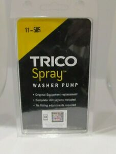 Windshield Wiper Washer Fluid Pump Trico Spray 11 505 Oem Replacement New
