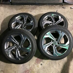 2019 2020 17 Inch Honda Accord Factory Wheels Oem Rims Tires Package