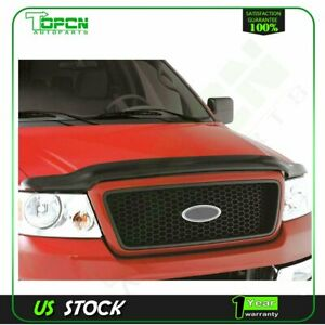 For 1998 2003 Ford Ranger Acrylic Front Bug Deflector Hood Shield Guard Us Stock