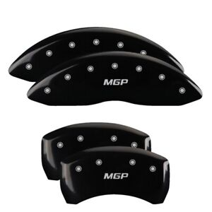 Mgp 4 Caliper Covers Black For 2007 2011 Mercedes benz S550 23117smgpbk