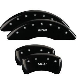 Mgp 4 Caliper Covers Black For 2014 2017 Mercedes benz S550 23231smgpbk