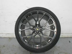 2011 09 10 12 Audi R8 V8 Vossen Forged M x3 20x11 Rear Wheel With Tire 1 3068