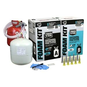 Dap Touch N Seal 600 Bf Low Gwp 1 75 Pcf Fr Closed Cell Spray Foam Insulate Kit