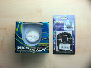 Hks Direct Bright Meter 52mm Boost Gauge White Panel 4404 ak001