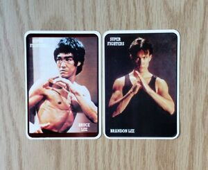 1993 BRUCE LEE POCKET CALENDAR 12 CARDS PORTUGAL NM MT $20.00