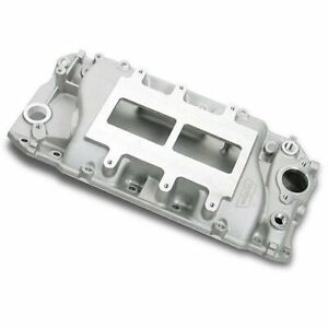 Weiand 6130win 177 Series Supercharger Intake Manifold Big Block Chevy 396 502