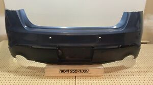 Oem 2013 2014 2015 2016 2017 2018 Ford Taurus W Sensor Holes Rear Bumper Cover