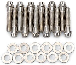 Edelbrock 8579 Performer Series Intake Manifold Bolt Kit Mopar 318 360 Engine