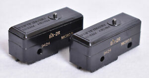 2 Count Honeywell Micro Switch Limit Switches Ba 2r