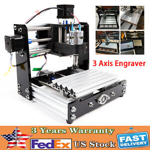 3 Axis Cnc Router Engraver 1018 Wood Pcb Pvc Engraving Milling Cutting Machine