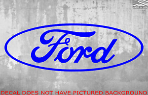 Ford Decal Sticker Vinyl
