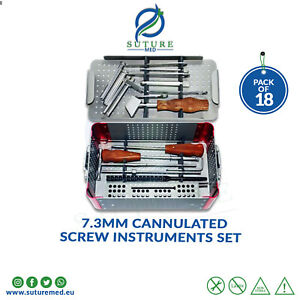 7 3mm Cannulated Screw Orthopedic General Surgical Instruments