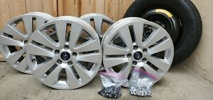 2016 Subaru Outback Oem 17 Inch Wheels And Spare