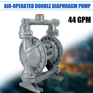 Air operated Double Diaphragm Pump Transfer Qbk 40l 44gpm 1 1 2 inlet outlet Us