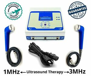 Physiotrack Model Ultrasound Therapy 1 Mhz 3 Mhz Two Output Therapy Machine