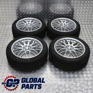 Mini Cooper One R50 R55 R56 Complete Set 4x Wheel With Tyres 17 7j Calibre Via