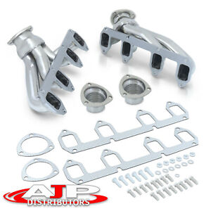 Stainless Exhaust Manifold Header Kit For Ford Big Block Bbf Fe 330 360 390 428