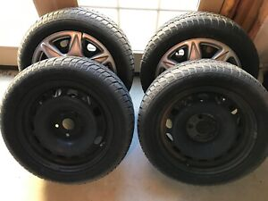 Used Dunlop Winter Sport M2 205 55r16 Tires Less Than 100 Miles Set Of 4