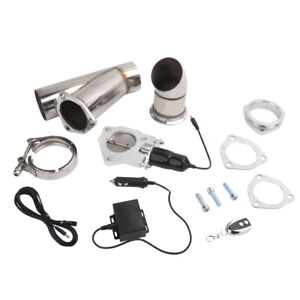 Lencool 3 Electric Exhaust Muffler Valve Cutout System Dump Wireless Remote