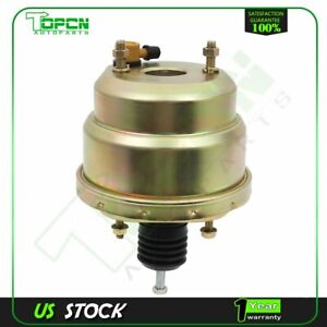 Power Brake Booster 7 Dual Diaphragm Zinc Street Rod For Universal Ford Chevy Gm