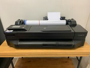 Hp Designjet T120 Printer With Brand New Printer Head And Ink