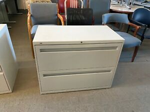 2dr 36 w X 19 d X 28 h Lateral File Cabinet By Hon Office Furniture W Lock key