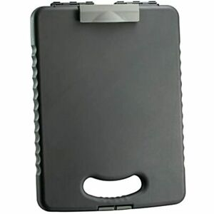 Officemate Oic Letter a4 Size Deluxe Tablet Clipboard Case Charcoal 83315