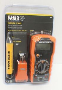 Klein Tools 69149 Test Kit With Multimeter Non contact Volt Tester Outlet New