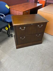 2dr 31 w X 21 d Lateral File Cabinet In Cherry Finish Wood By Jofco Office Furn