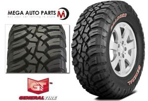 1 General Grabber X3 Lt265 70r17 121 118q E Red Letter Rugged Mud Terrain Tires