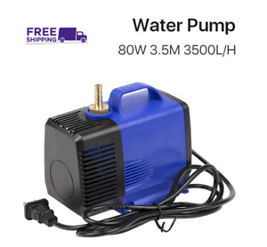 Submersible Water Pump 80w 3 5m 3500l h Ipx8 Co2 Laser Engraving Cutting Machine