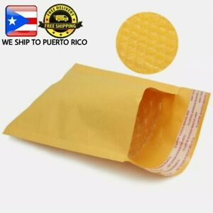 Lot Of 50 Kraft Bubble Mailers Padded Envelope Shipping Bags 000 Inside 4 x7