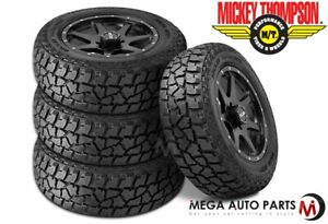 4 Mickey Thompson Baja Atz P3 Lt285 75r16 126q E 45k Mile All Terrain Mud Tires