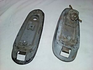 1938 1939 1940 Buick Tail Light Housings Set Of 2 Guide 921797 921798 B568