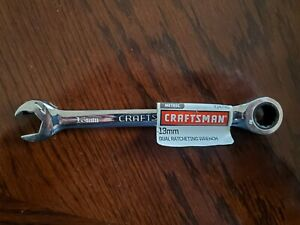 Craftsman Metric 13mm 12 Point Duel Ratcheting Combination Wrench