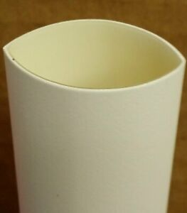 1 2 3 1 Adhesive Lined Heat Shrink Tubing 4ft piece White