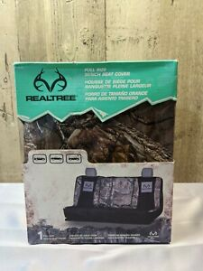 New In Box Realtree Seat Cover Universal Full Sized Bench Camo Suv Truck Van