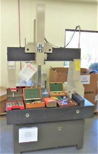 Mitutoyo Model B 231cmm S n 8305460 With Renishaw Touch Probe And Accessories