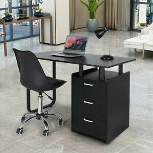 Computer Desk Laptop Writing Table Workstation Student Study Furniture W drawers