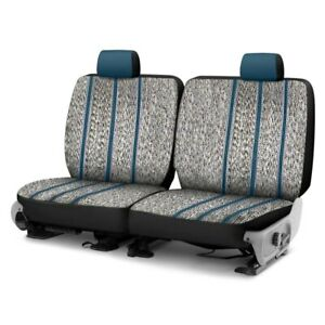 For Toyota Previa 94 97 Saddle Blanket 2nd Or 3rd Row Blue Custom Seat Covers