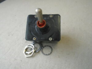 1 Ea Nos Honeywell Micro Toggle Switch P n Ms27736 23