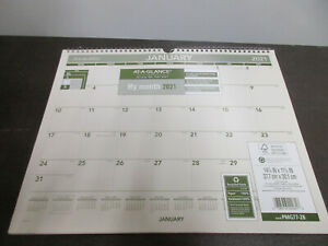 At a glance My Month 2021 Recycled Calendar 15 X 12 Pmg77 28