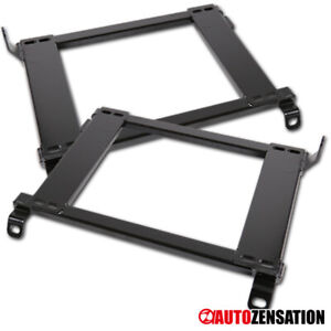 For 1996 2000 Honda Civic Racing Seats Mounting Brackets Rail Track Left right