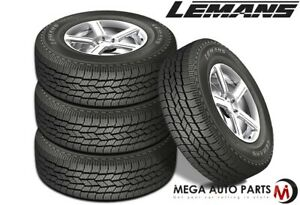 4 Lemans Suv As Ii 265 65r18 114t Owl All Season Outlined White Letter Tires